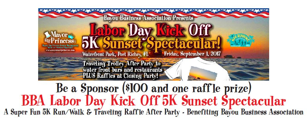 BBA Labor Day Kick Off 5K Sunset Spectacular @ Various Locations