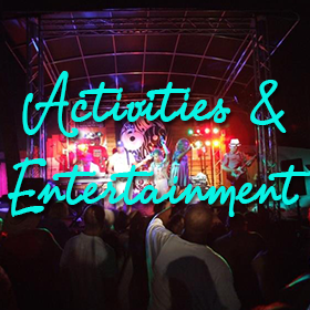 Bayou Business Association activities and entertainment
