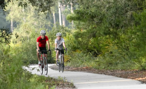 Suncoast Trail Port richey Florida Pasco County Hike Bike 2