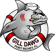 GILL DAWG Dawg Tiki Bar and Grill Marina Port Richey Florida